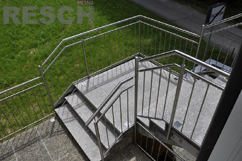 stiegen und terrassengel nder resch metalltechnik. Black Bedroom Furniture Sets. Home Design Ideas